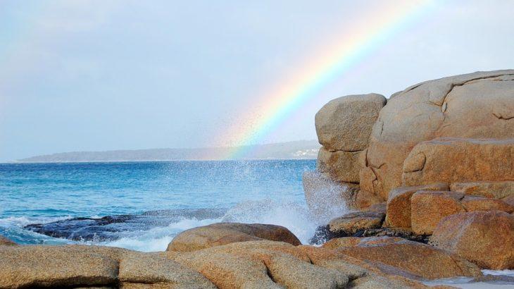 雨がくる 虹がたつ 他2話 蟲師