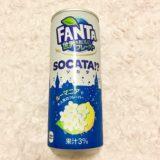 自販機限定 ファンタ FANTA 世界のおいしいフレーバーSOCATA『ソカタ』食レポ